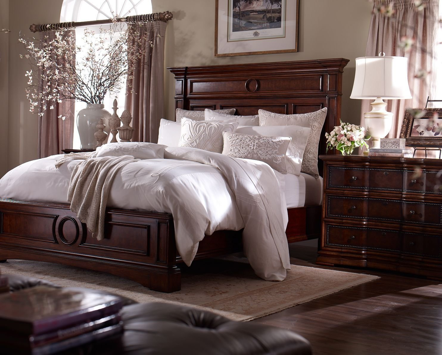 Best A Stately Suite Master Suite Dreams Wood Bedroom Furniture Dark Wood Bedroom Furniture With Pictures