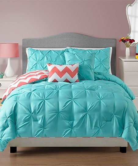 Best Teal And Coral Bedding Decorating Bedroom Turquoise With Pictures