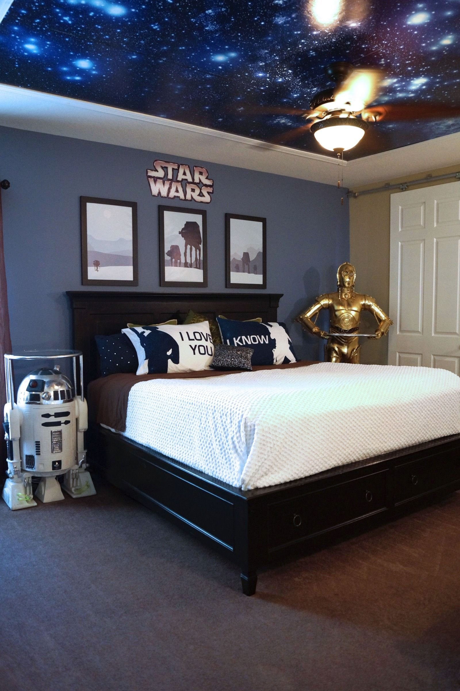 Best Image Result For Star Wars Bedroom Star Wars Room In With Pictures