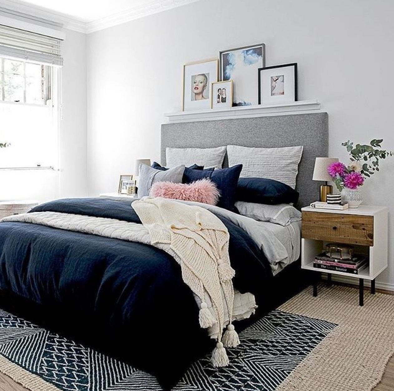 Best Love This Home Navy Blue Bedrooms Blue Bedroom E Navy With Pictures