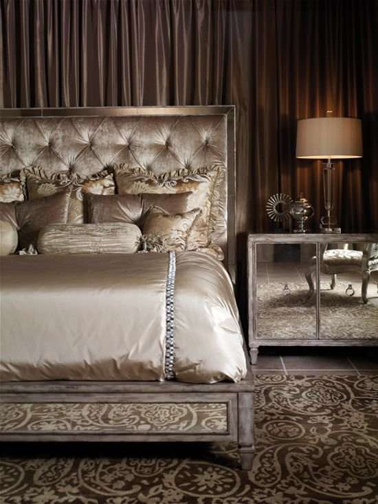 Best Old Hollywood Glamour Bedroom Ideas … Master Bedroom In 2019… With Pictures