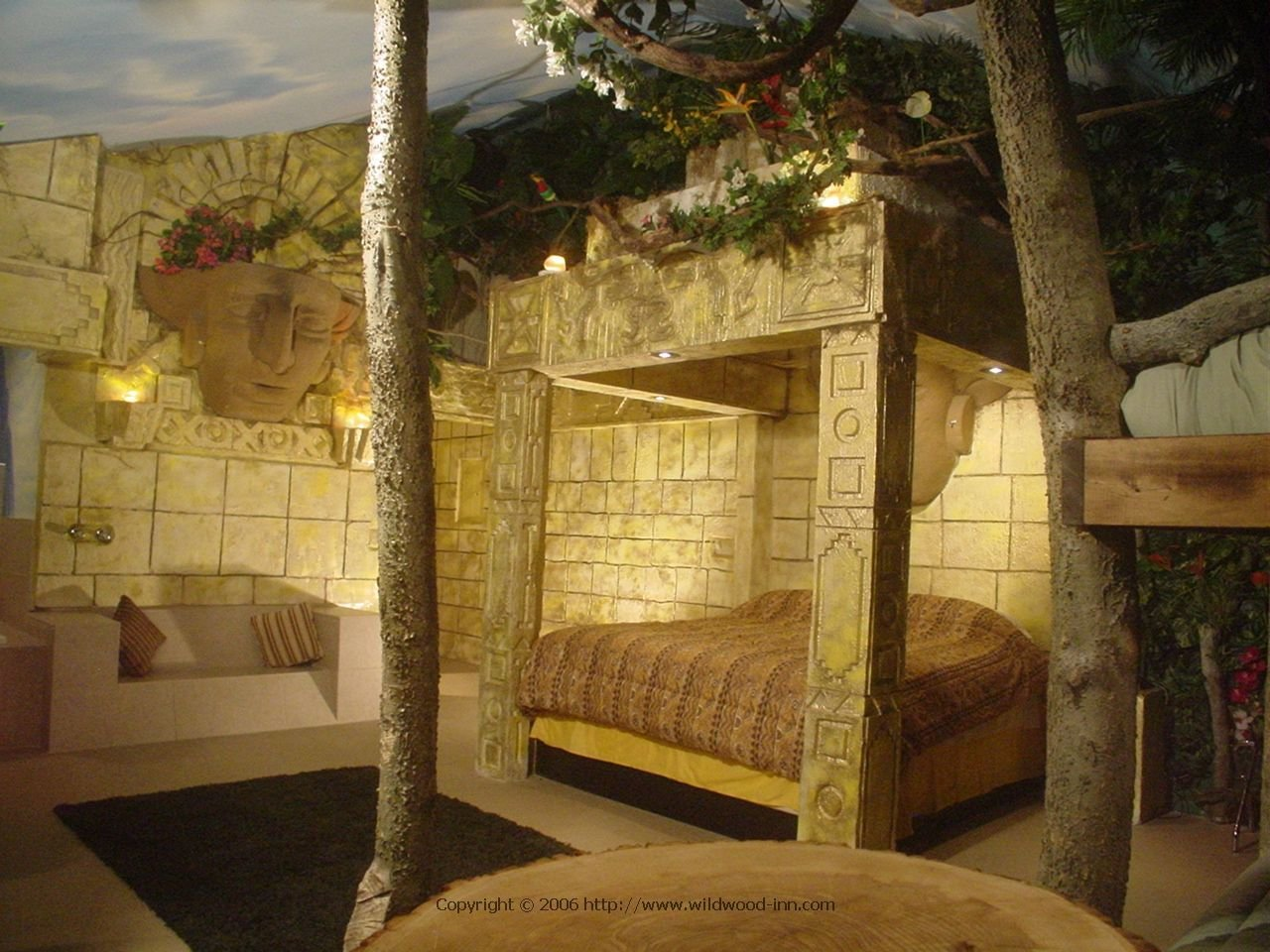 Best Aztec Jungle Rooms Accomodation Themes With Pictures