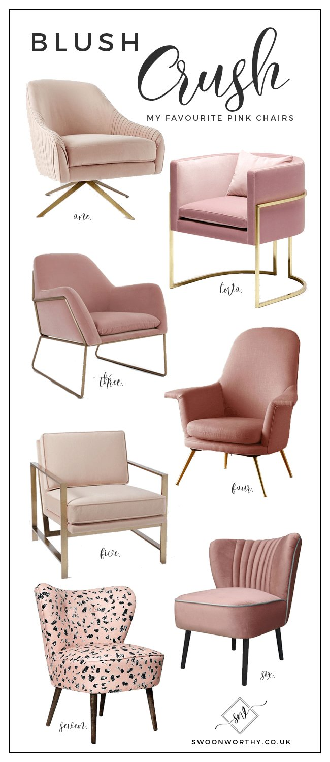 Best Blush Crush My Favourite Blush Pink Chairs Home With Pictures