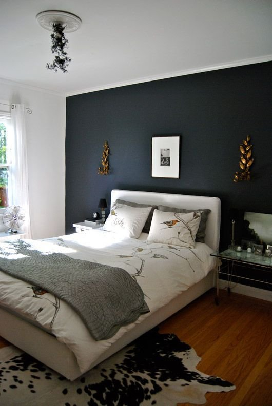 Best Gravel Gray Home Spaces Decor Dark Bedroom Walls With Pictures