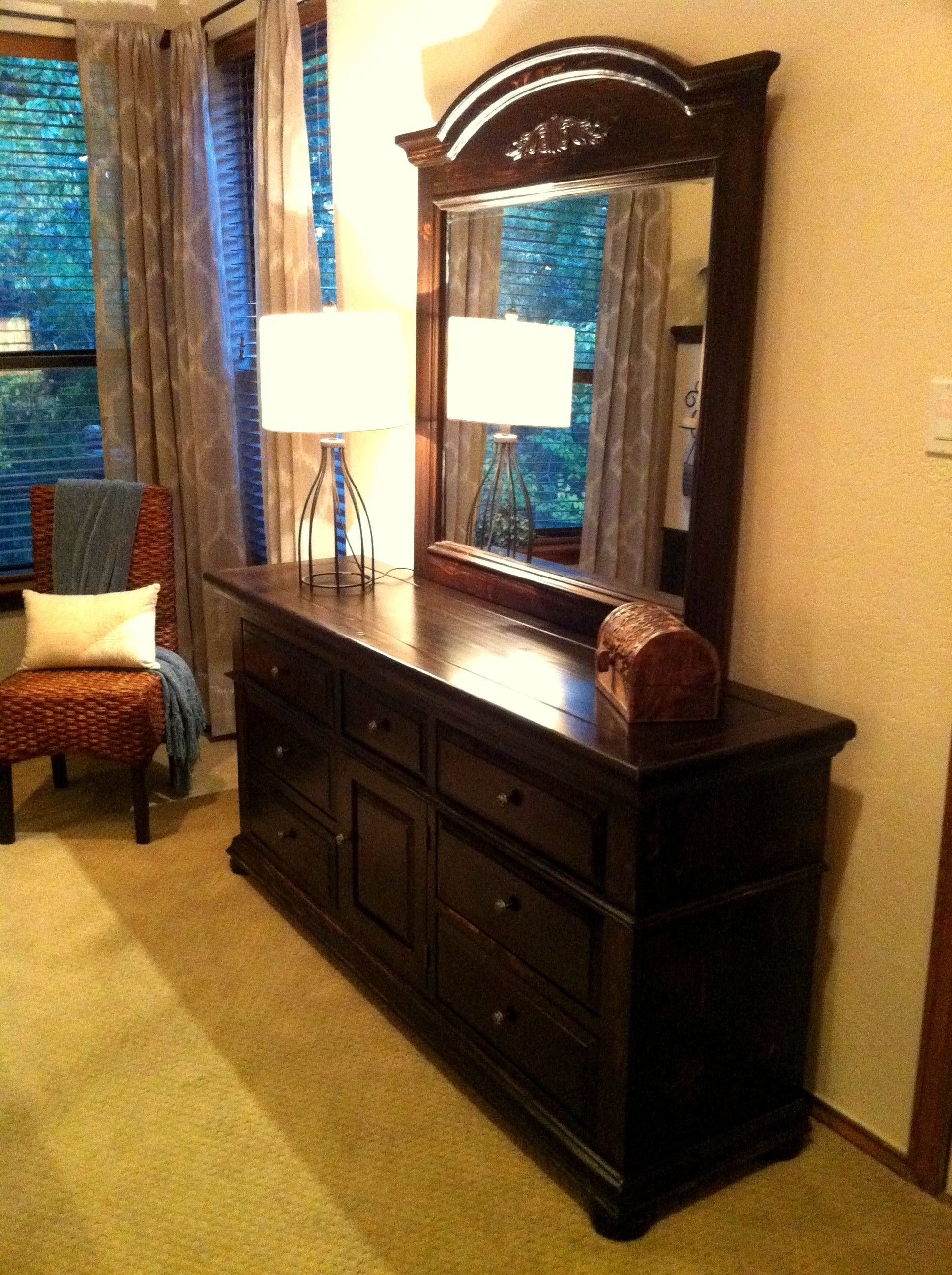 Best Broyhill Fontana Refinished With Kona Stain And New With Pictures
