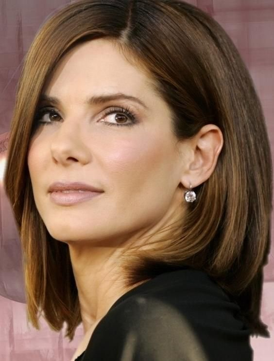 Free Sandra Bullock I Did My Hair Like This Once And I Loved Wallpaper