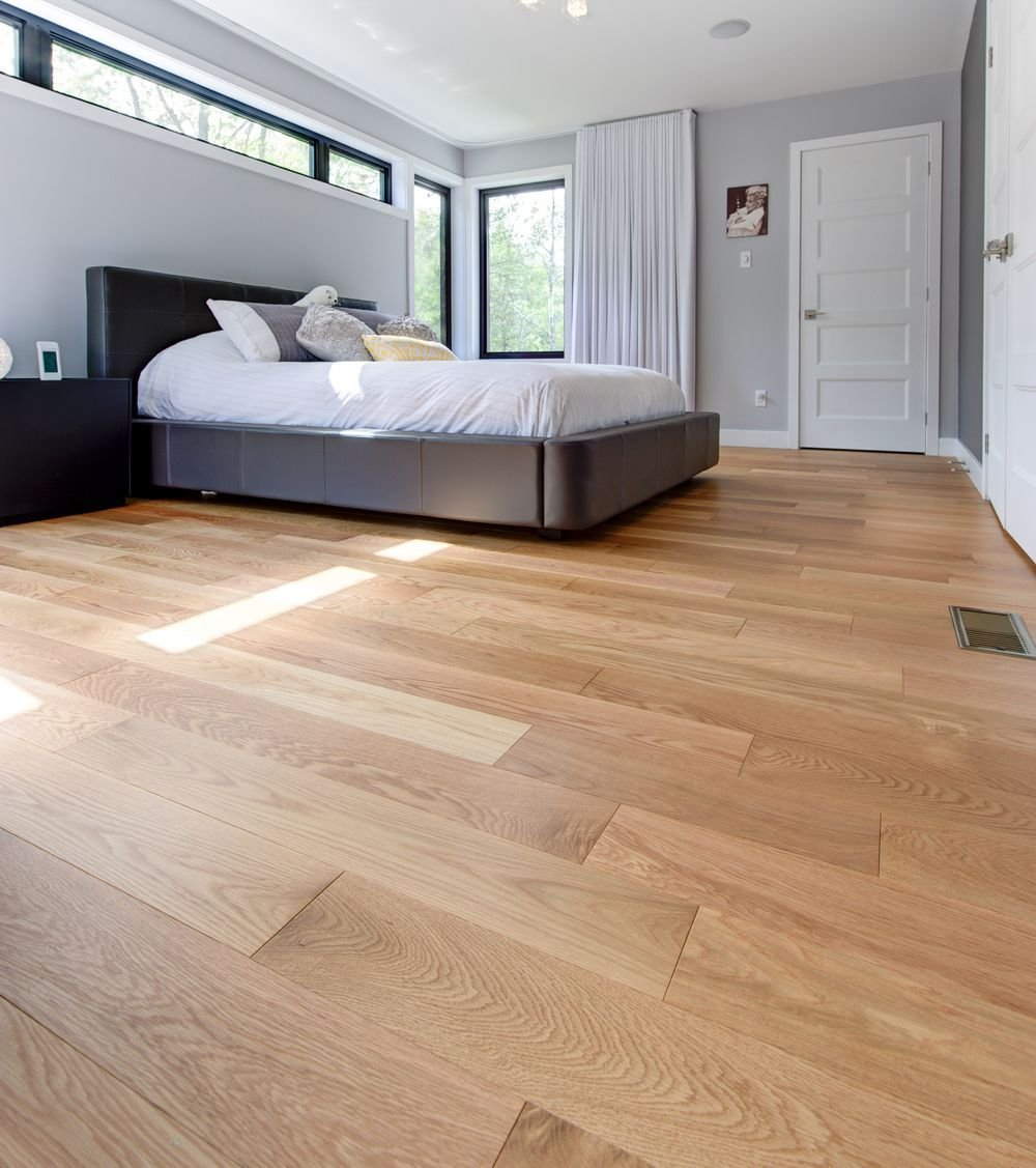 Best Wide Plank Red Oak Bedroom Floor Red Oak Flooring For With Pictures