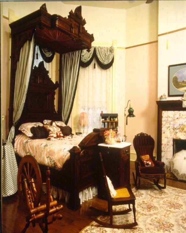 Best A Magnificent Half Tester Bed Is The Showpiece Of The With Pictures