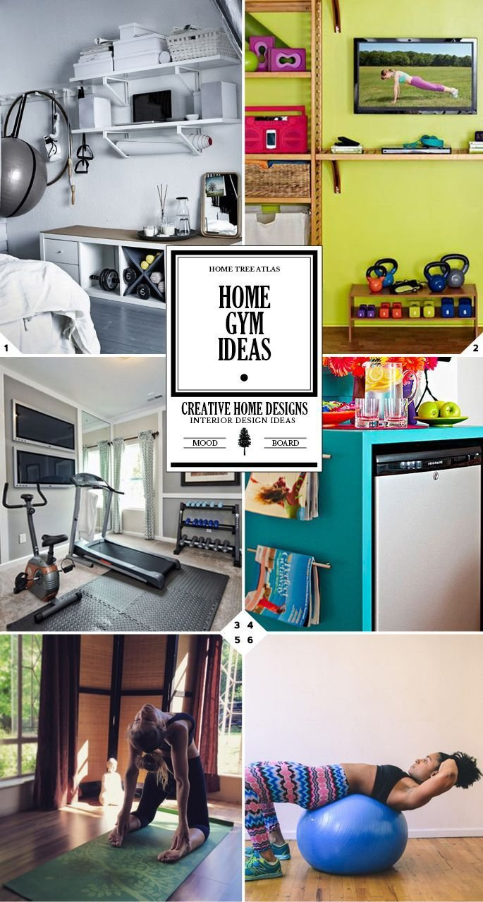 Best Home Gym Ideas Creating Your Own Workout Space Gym With Pictures