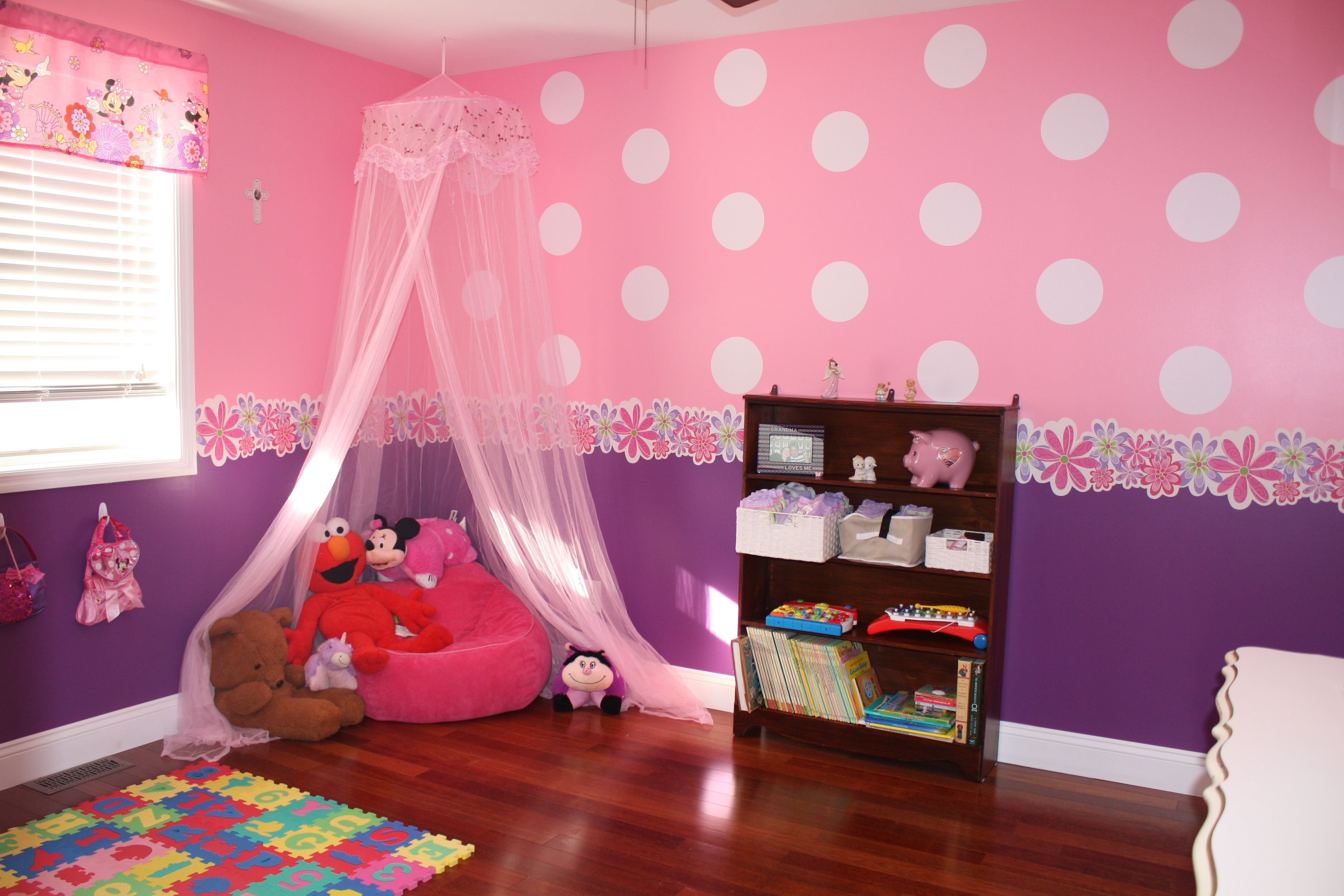 Best Toddler Minnie Mouse Bedroom Reading Nook Little Girl S With Pictures