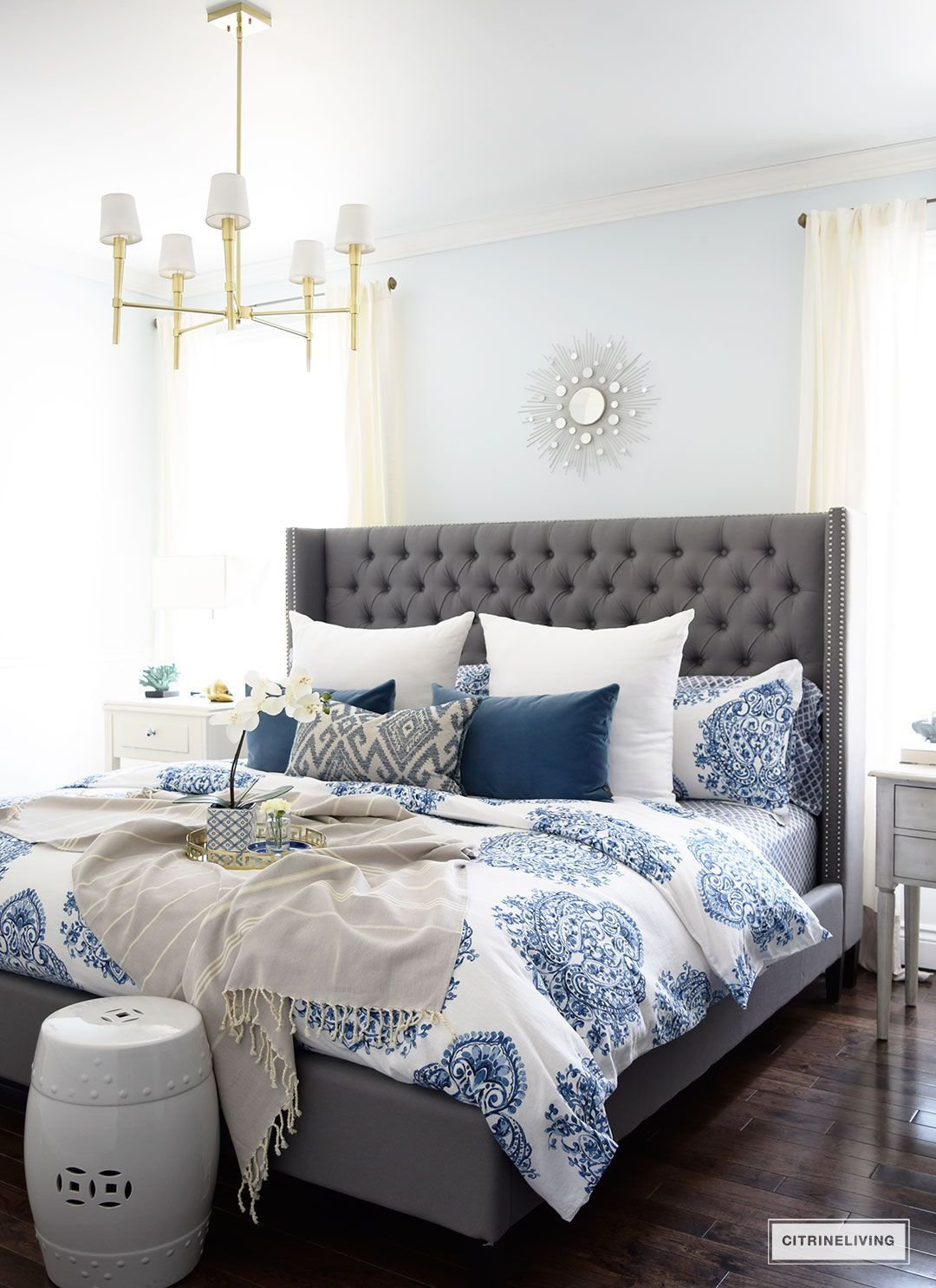 Best Spring In Full Swing Home Tour 2017 Master Bedroom Ideas With Pictures