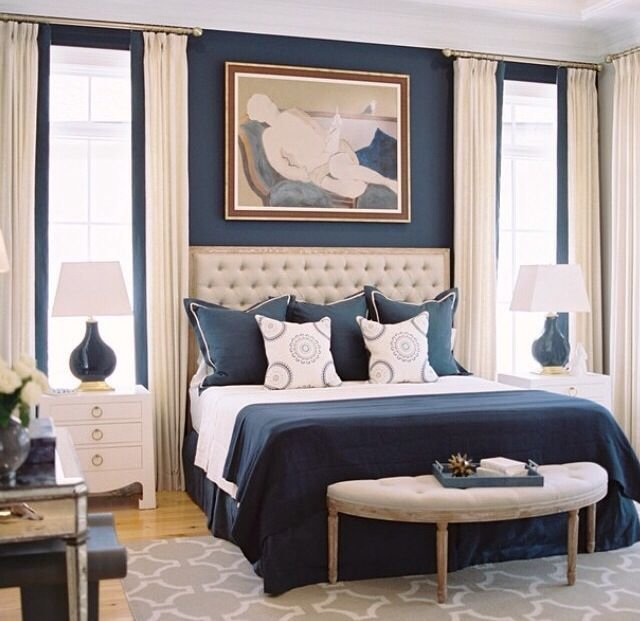 Best Navy Blue And Tan Bedroom Navy Blue And Beige Lovely With Pictures