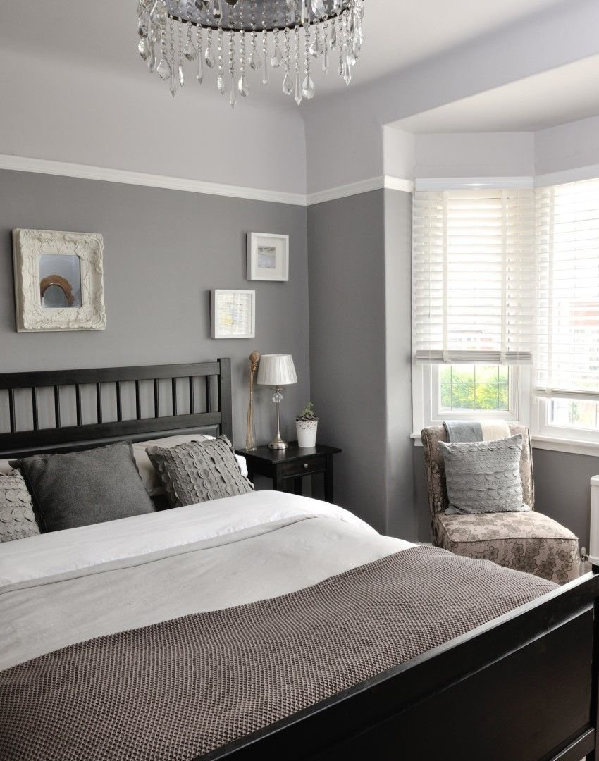 Best Different Tones Of Grey Give This Bedroom A Unique And With Pictures