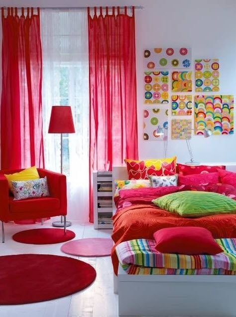 Best Colorful Teenage Girl Bedroom Ideas Rooms For Kids Of With Pictures