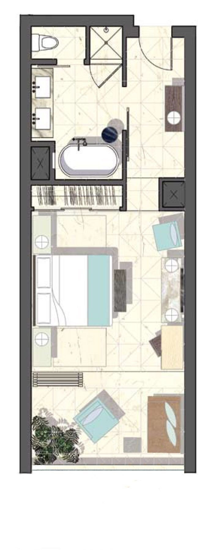 Best Viceroy Hotel Layout Good Design For A Room With A With Pictures