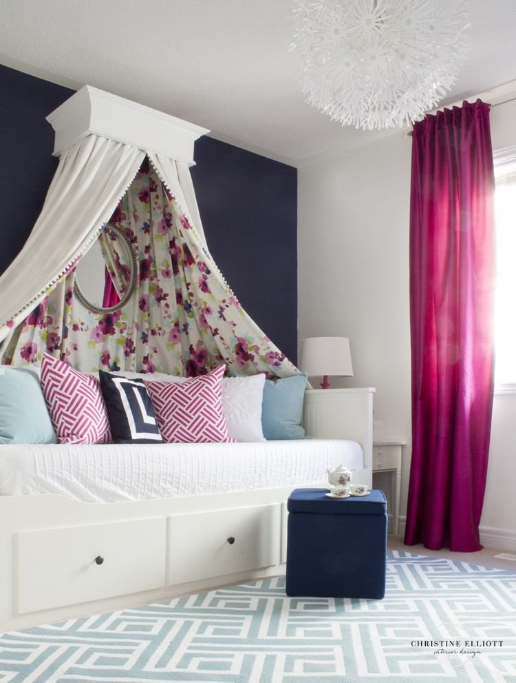 Best Tea Party Chic Girl S Bedroom In 2019 Blogger Home And With Pictures