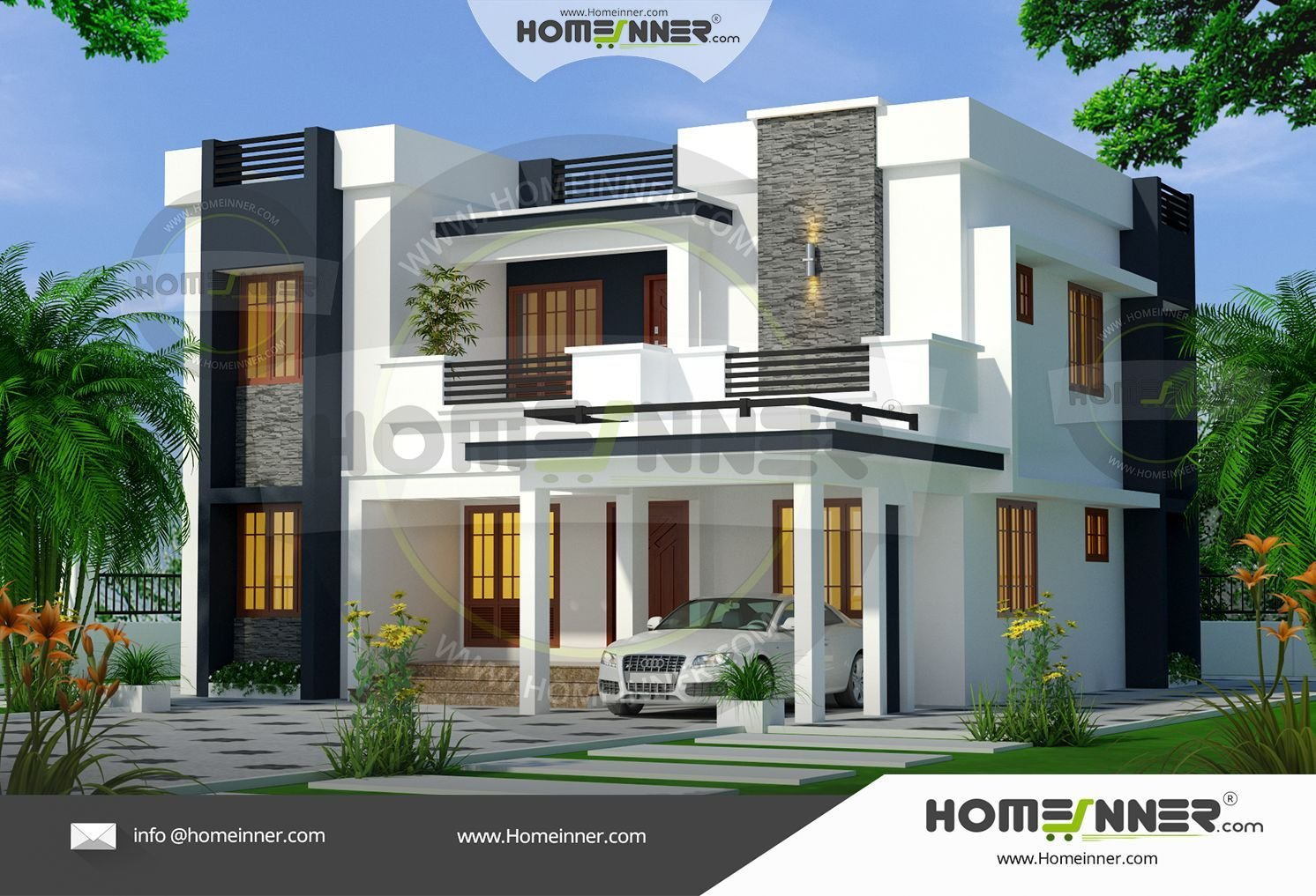 Best 4 Bedroom Contemporary Ultra Modern House Plans 1900 Sq Ft With Pictures