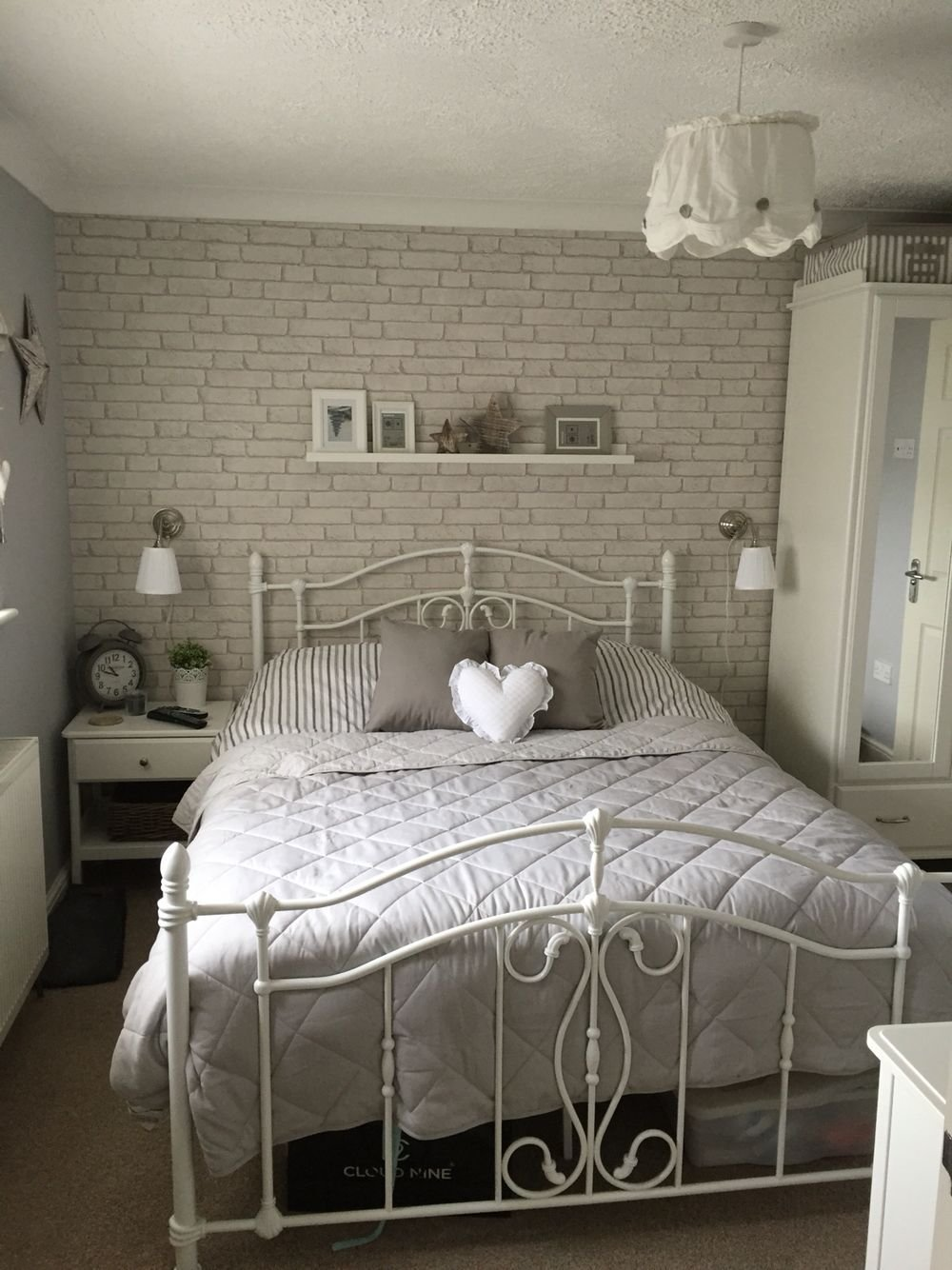 Best Brick Wallpaper … Bedroom In 2019… With Pictures