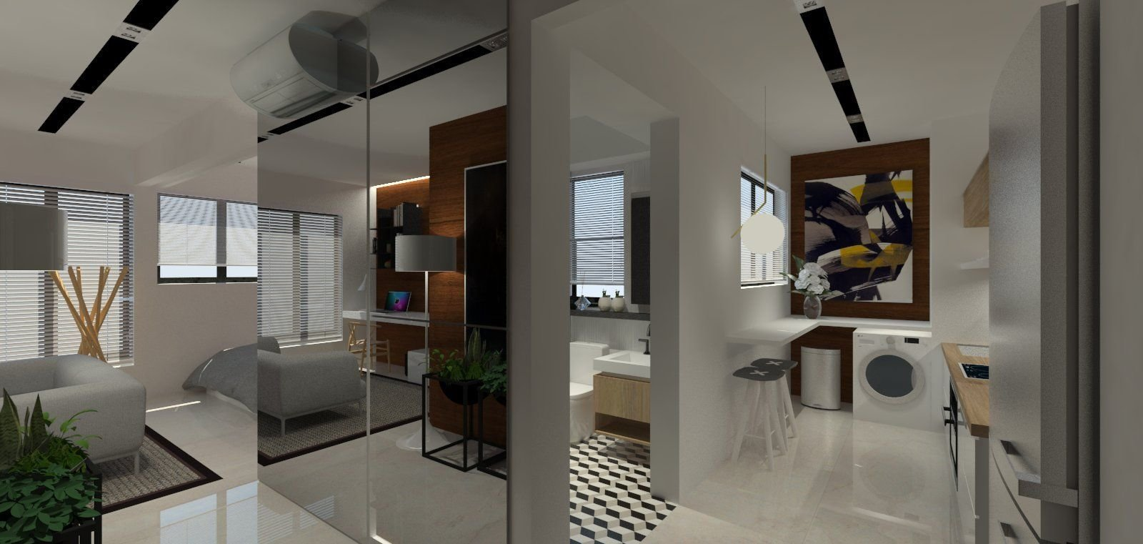 Best Hdb 2 Room Bto For Singles 47Sqm Apartment Interior Design Conceived By The Owner Of This With Pictures