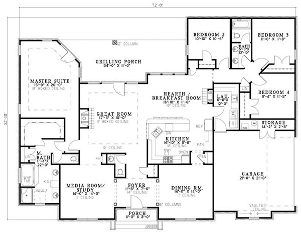 Best I Like The Layout Split Plan With All The Bedrooms On One With Pictures