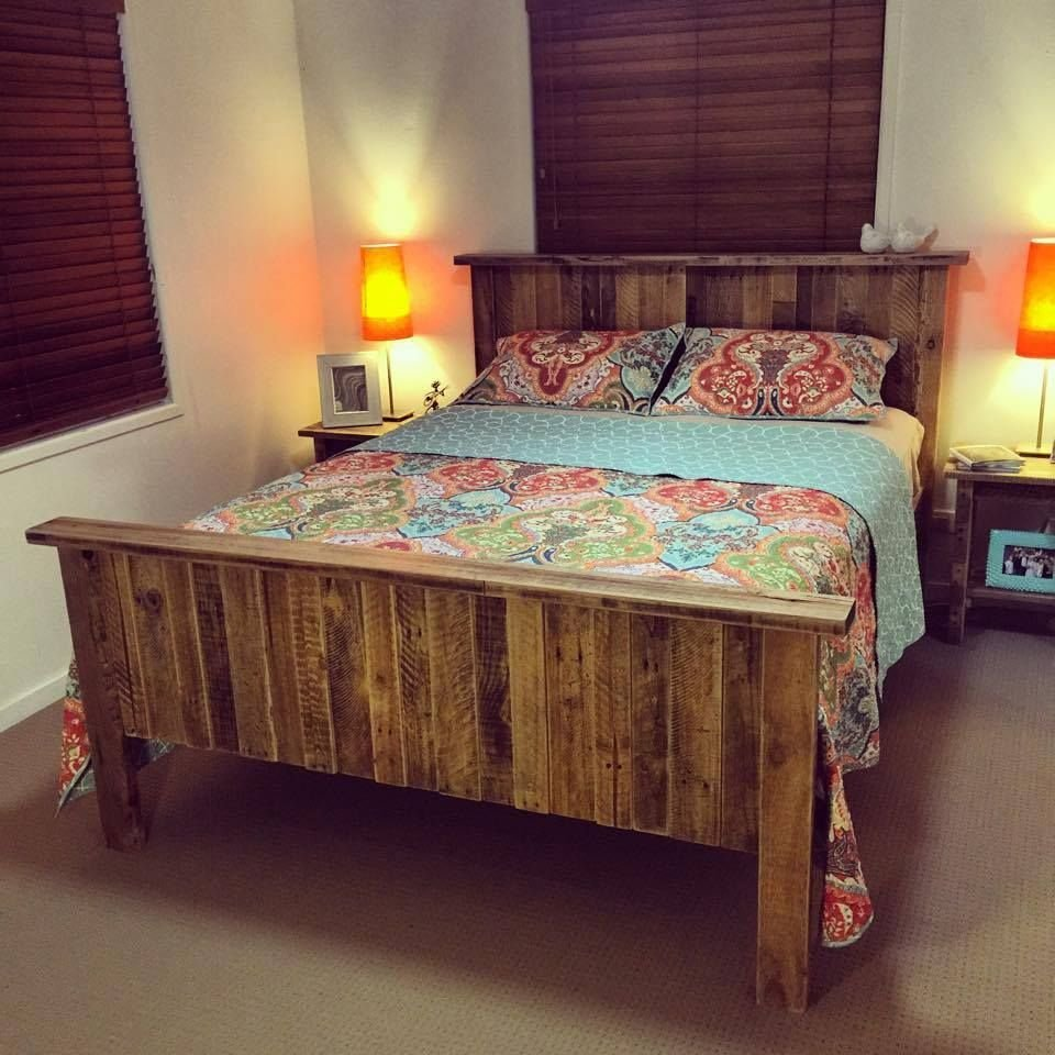 Best Bed Made Of Pallets 125 Awesome Diy Pallet Furniture With Pictures