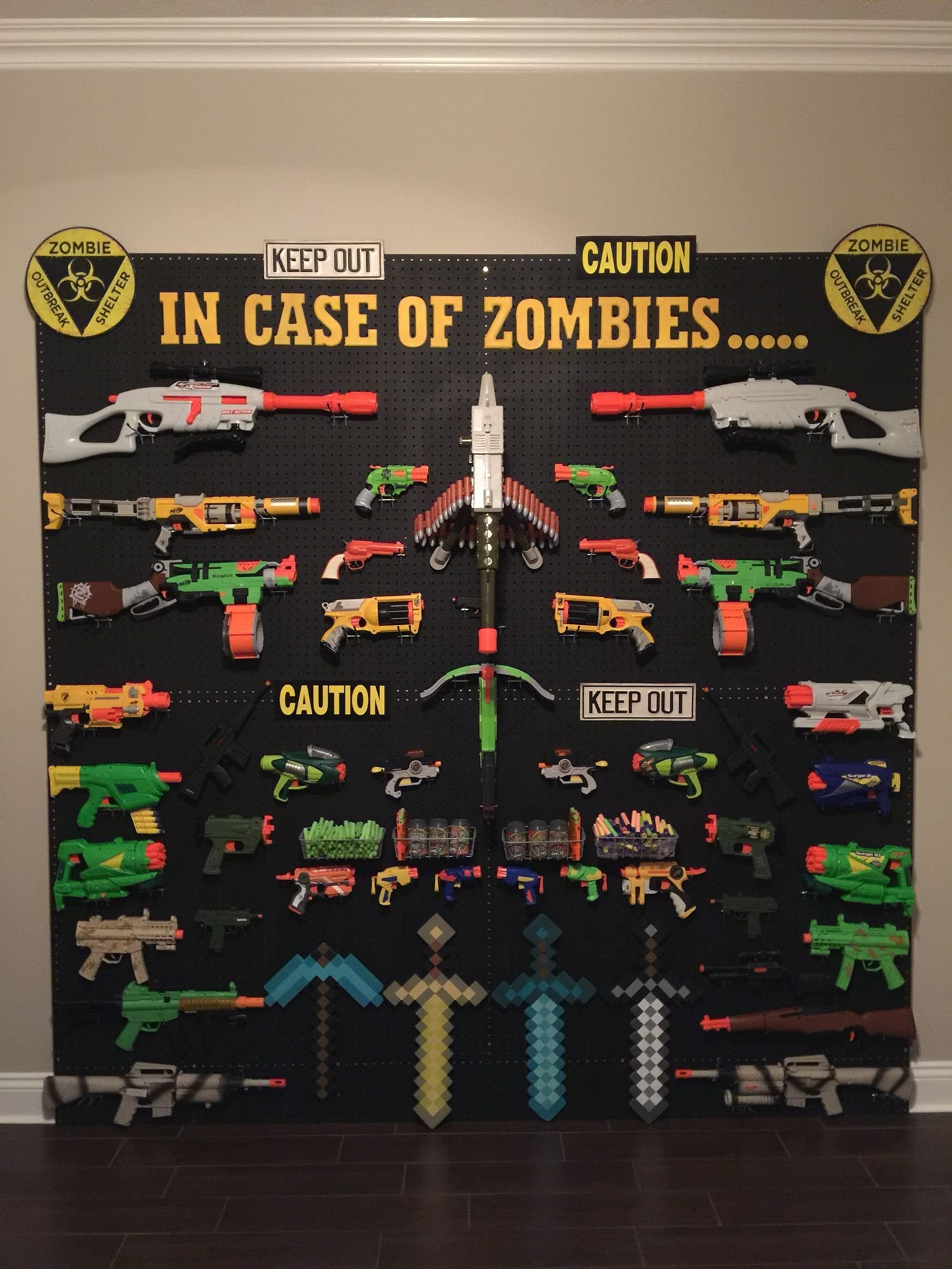 Best Nerf Storage Ideas For My Little Man Gamer Room Nerf With Pictures