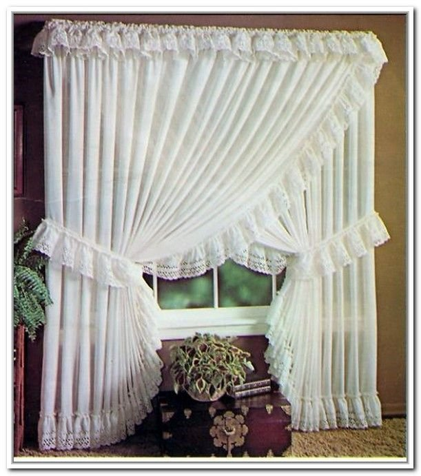 Best Sheer Priscilla Criss Cross Curtains Old Fashion Me With Pictures