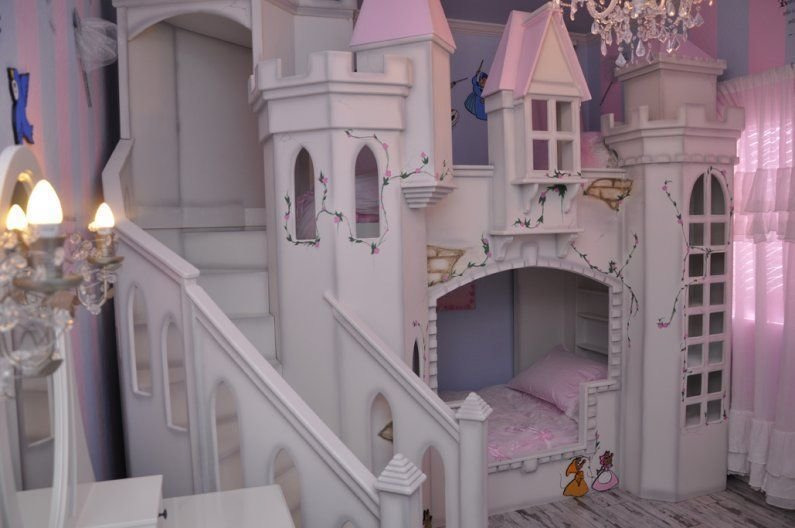 Best Princess Room Castle Bed Future Idea For Kids With Pictures