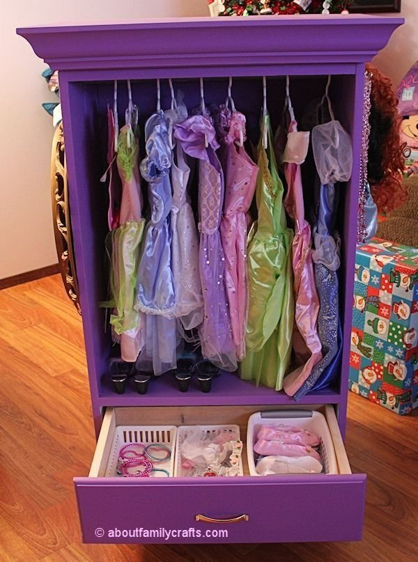 Best This Dress Up Armoire Is A Great Diy Project For The With Pictures