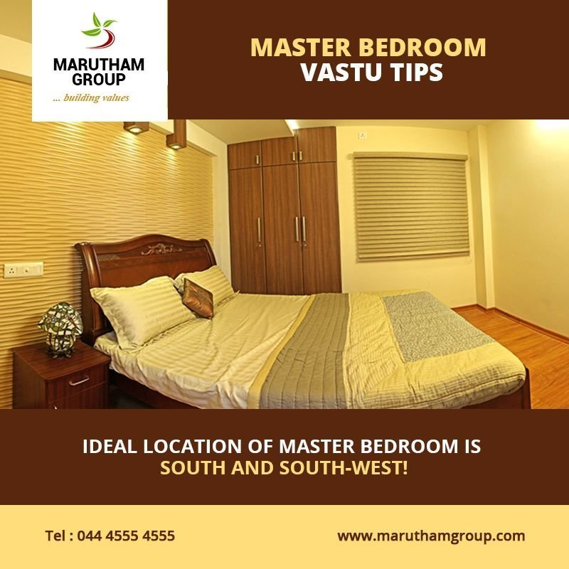 Best Master Bedroom Vastu Tips • The Ideal Location Of A With Pictures