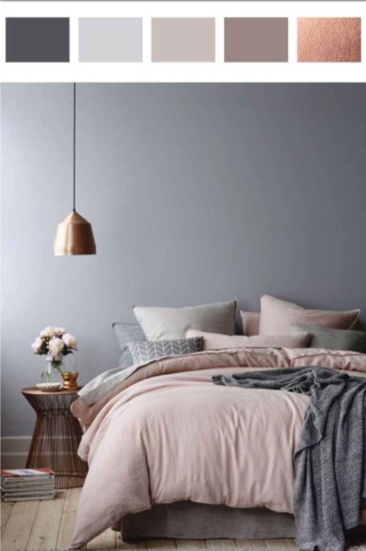 Best Rose Gold Dusty Pinks And Grey … Bedroom Ideas Bedro… With Pictures