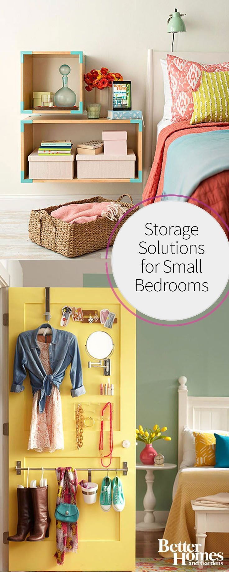 Best Storage Solutions For Small Bedrooms Smart Storage With Pictures