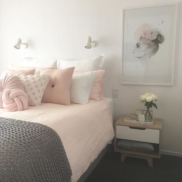 Best Blush Pink White And Grey Pretty Bedroom Via Ivoryandnoir On Instagram New Bedroom Blush With Pictures