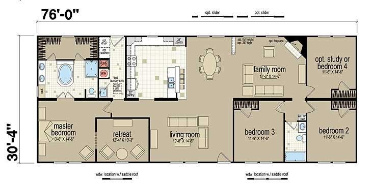 Best Floor Plans Champion 381L Manufactured And Modular With Pictures