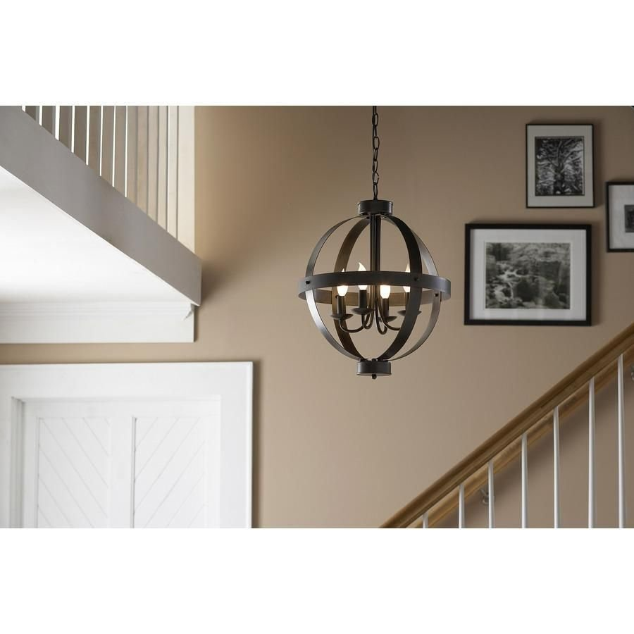 Best This Allen Roth Rustic Pendant Light Is The Perfect With Pictures