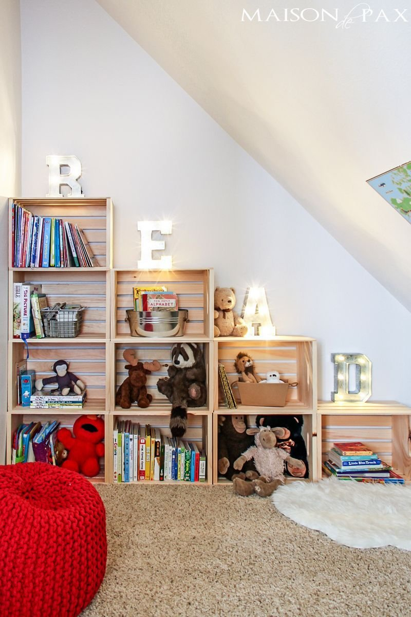 Best 13 Clever And Stylish Ways To Organize Your Kids Toys With Pictures