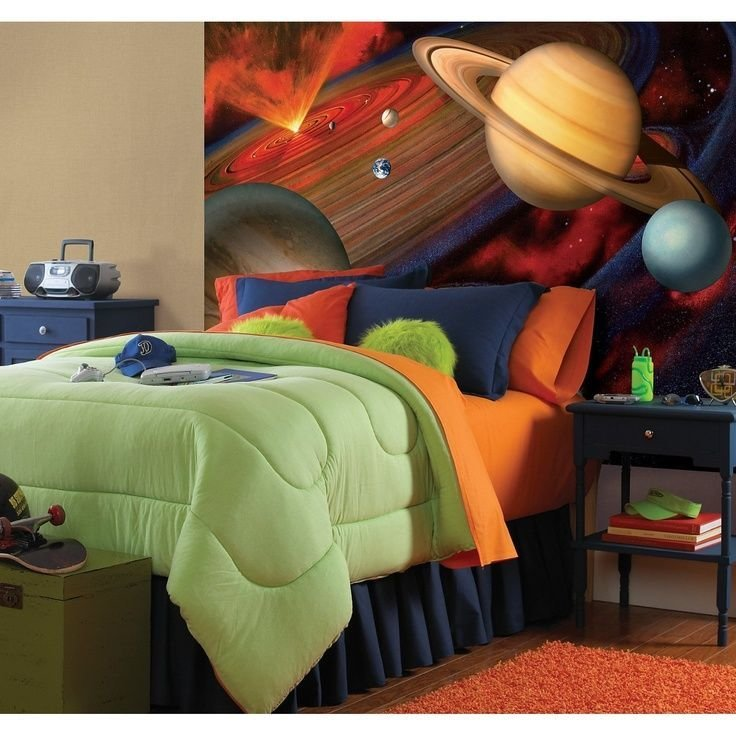 Best Planets Ashton S Room Outer Space Bedroom Bedroom Themes Bedroom Decor With Pictures