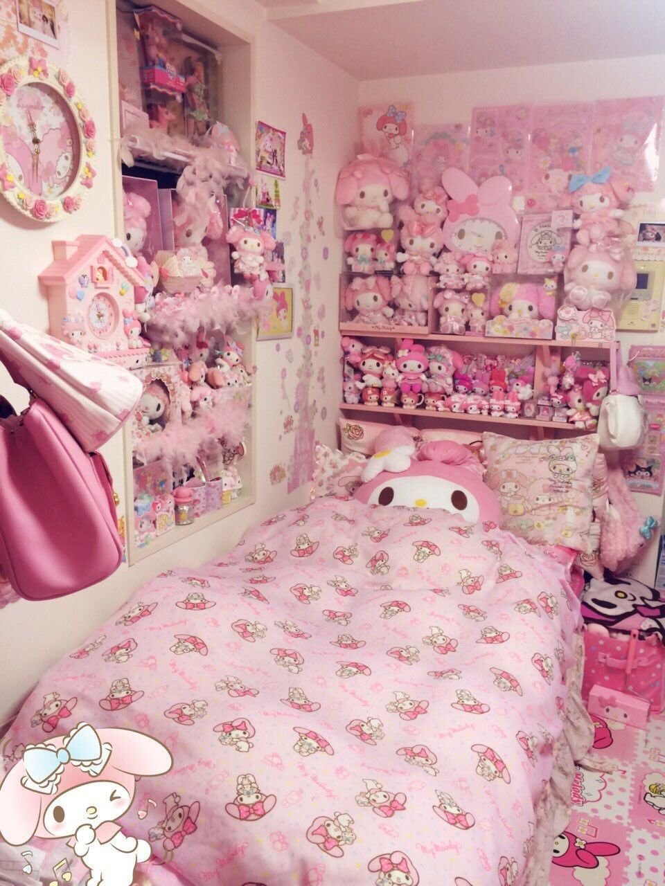 Best Pin By Garance L On Rooms In 2019 Kawaii Bedroom Kawaii With Pictures