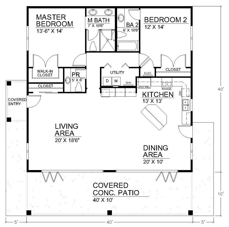 Best Spacious Open Floor Plan House Plans With The Cozy With Pictures