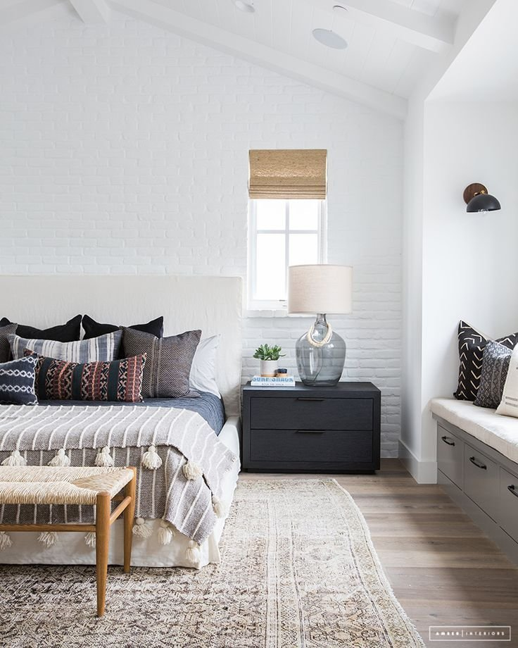 Best Bohemian Bedroom Ideas With Hardwood Flooring And Large With Pictures