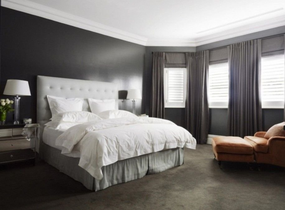Best Dark Brown Carpet What Color Walls Bedroom With Grey With Pictures