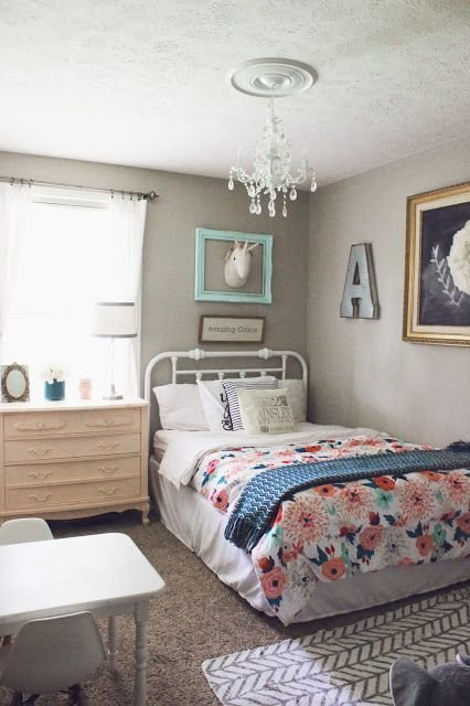 Best Toddler Girl Room Coral Peach Mint Ainsley Toddler Room Girls Bedroom Big Girl Bedrooms With Pictures