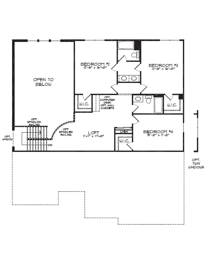 Best Dimensions For Jack And Jill Bathrooms First Floor Plan With Pictures