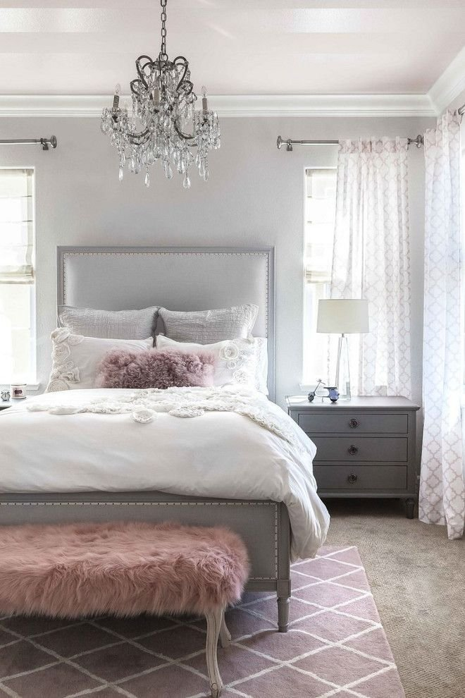 Best Stunning Gray White Pink Color Palette Suman S Board In 2019 Blush Bedroom Bedroom With Pictures