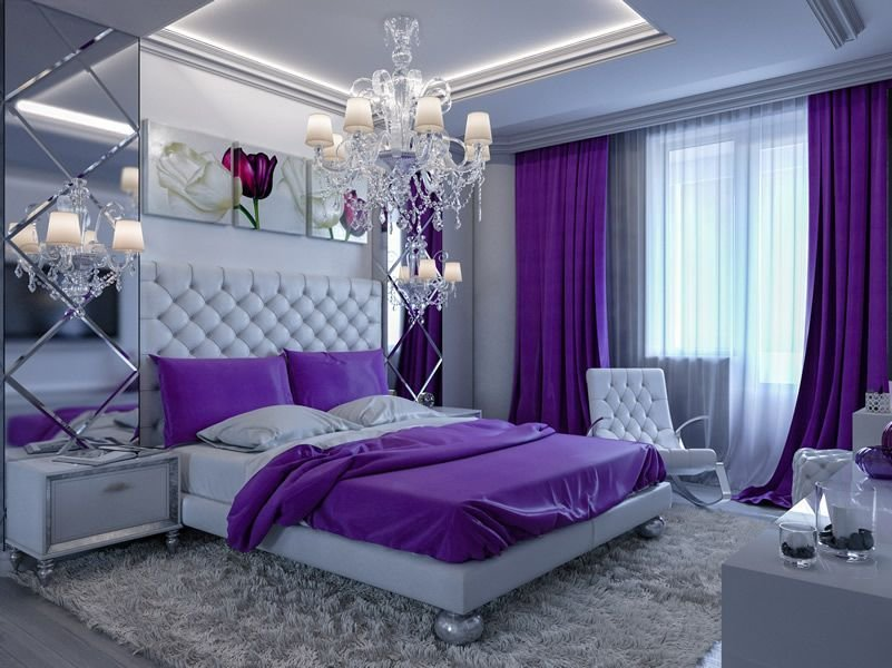 Best 25 Purple Bedroom Designs And Decor Bedroom Decorating With Pictures