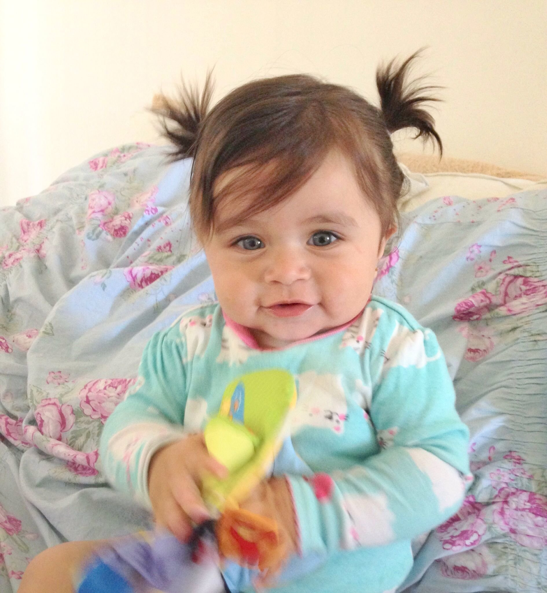 Free Baby Girl Hair Dos Ponytails Cute Baby Stuff D Baby Wallpaper