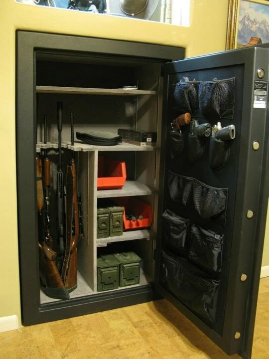 Best Built In Gun Safe Cory Would Love This For The Home With Pictures