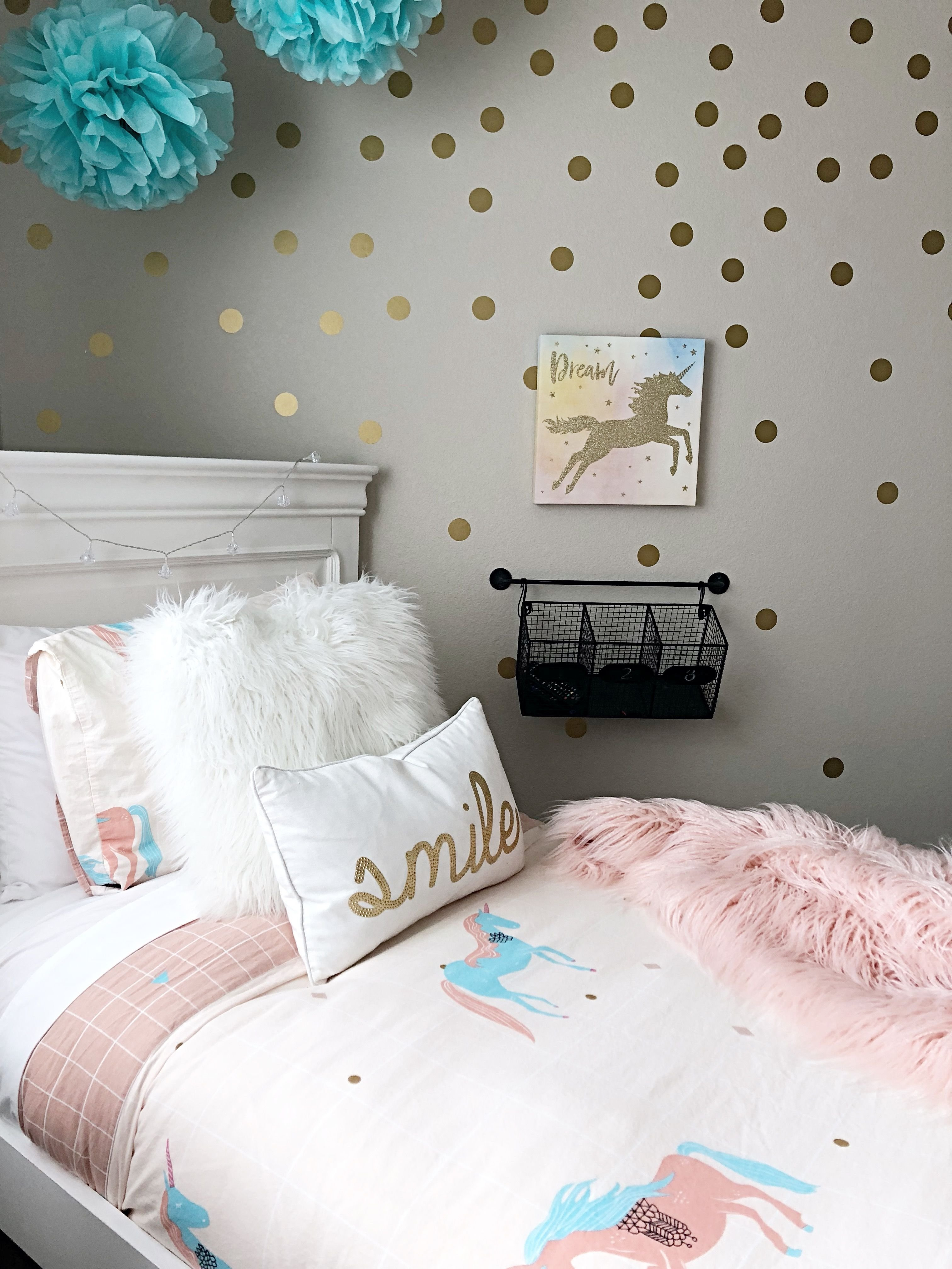 Best Simple Tween Unicorn Themed Bedroom Unicorn Peyton's With Pictures