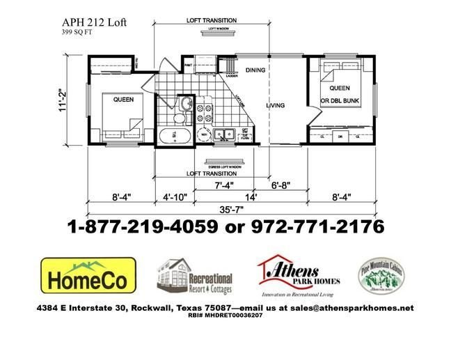 Best 2 Bedroom Park Model Home With Loft 41454 Including With Pictures