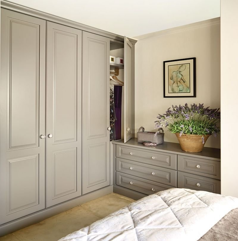 Best Built In Bedroom Wardrobes Painted Kitchens Bedrooms With Pictures